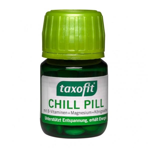 taxofit chill pill mit b vitaminen 40 tabletten. Black Bedroom Furniture Sets. Home Design Ideas