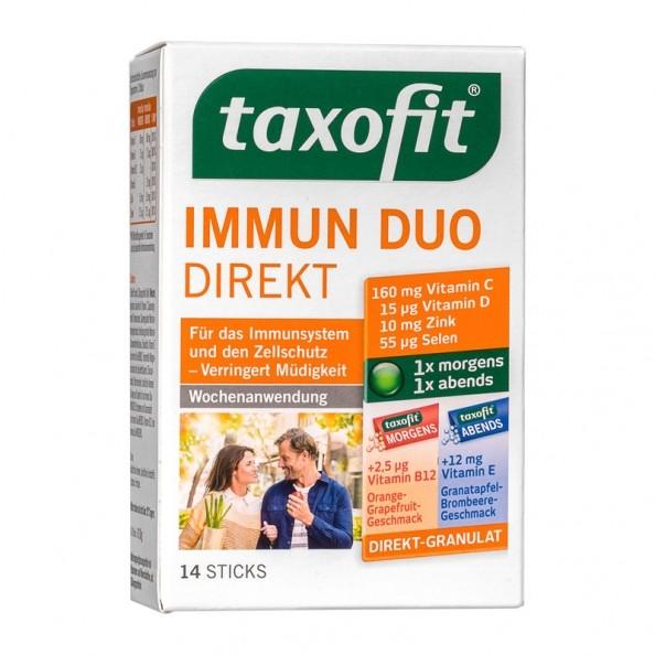 taxofit immun duo direkt f r morgens abends. Black Bedroom Furniture Sets. Home Design Ideas