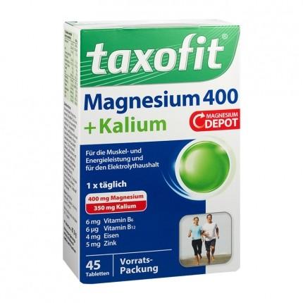 Taxofit Magnesium 400 + Kalium
