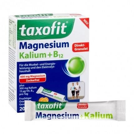 Taxofit Magnesium + Kalium + B12