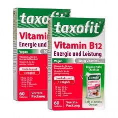 Taxofit Vitamin B12 Energie und Leistung