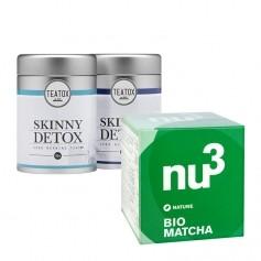 Favorita hälsotéer: Matcha och Teatox morgon & kväll