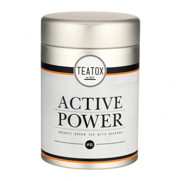 teatox power detox revitalizing fitness tea mit guarana. Black Bedroom Furniture Sets. Home Design Ideas