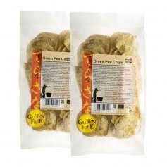 2 x TerraSana Bio Grüne Erbsen Chips