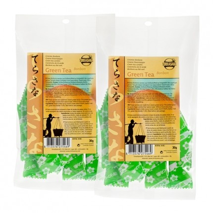 2 x TerraSana Grøn Te-bolsjer
