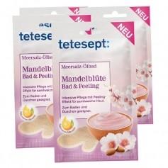 4 x tetesept Meersalz-Ölbad Mandelblüte