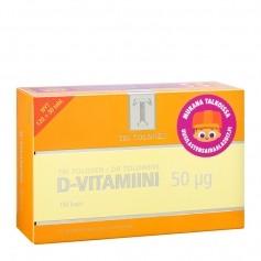 Tri Tolosen D-Vitamiini 50ug