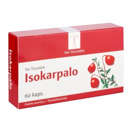 Tri tolosen terveystuotteet TRI TOLOSEN ISOKARPALO 60 KAPS