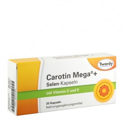 Twardy Mega Carotine + Selenium Capsules