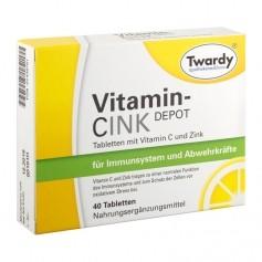 Twardy Vitamin CINK DEPOT Tablets