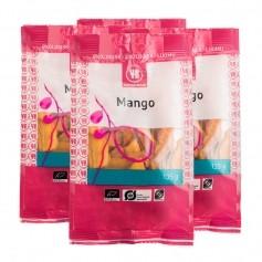 4 x Urtekram Økologisk Mango, Tørret Frugt