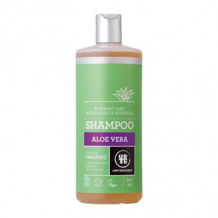 Urtekram Shampoo Normalt Hår Aloe Vera Økologisk