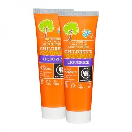 2 x Urtekram Økologisk Tandpasta Børn