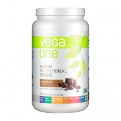 Vega One All In One Nutritional Shake Choklad, pulver