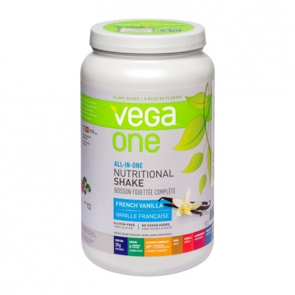 Vega One All in One Nutritional Shake Vanille, Pulver