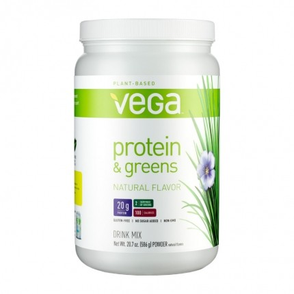 Vega Protein and Greens, Natural, Pulver