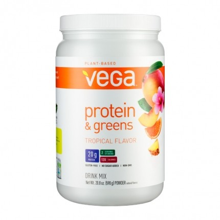 Vega Protein and Greens, Tropical, Pulver