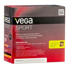 Vega Sport Ausdauer Gel Orange