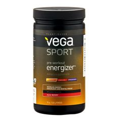 Vega Sport Pre Workout Energiser Acai Powder
