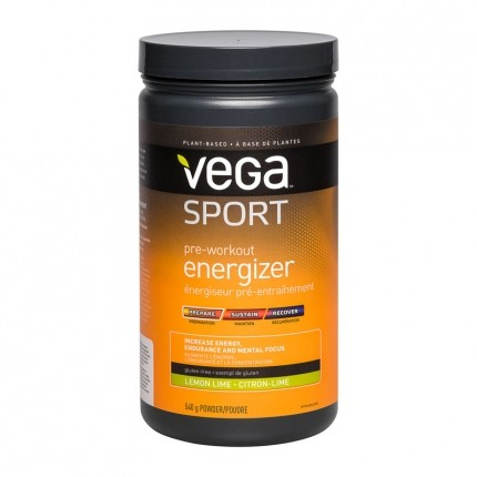 Vega Sport Pre Workout Energizer Lime, pulver