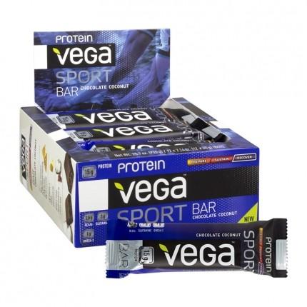 12 x Vega Sport Protein Riegel Schoko-Kokos