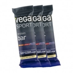 3 x Vega Sport Protein Riegel Schoko-Kokos