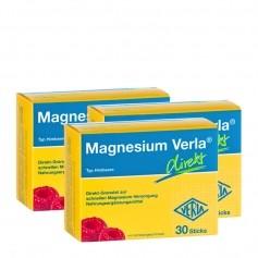 3 x Magnesium Verla direkt Himbeere, Direkt-Granulat