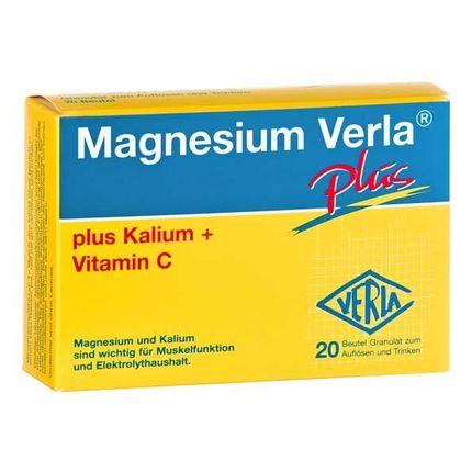 Magnesium Verla plus, Trinkgranulat