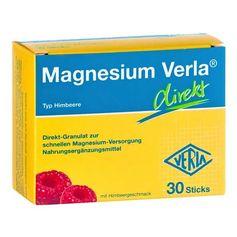 Magnesium Verla direkt Himbeere, Direkt-Granulat