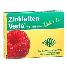 Zinkletten Verla Himbeere, Lutschtabletten
