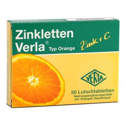Verla Zinkletten, Orange