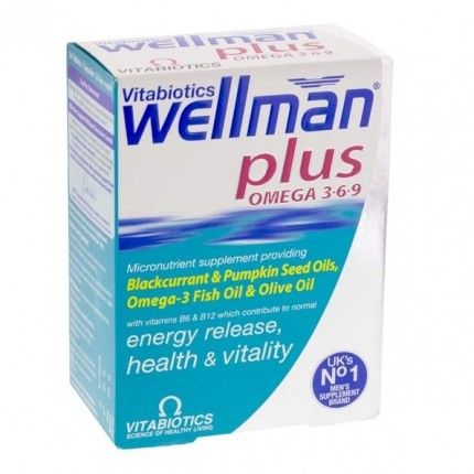 Vitabiotics Wellman Plus
