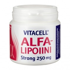 Hankintatukku Vitacell Alfalipoiini Strong 250 mg