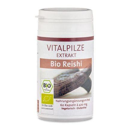 Vitalpilze Organic Reishi Medicinal Mushroom Extract Capsules