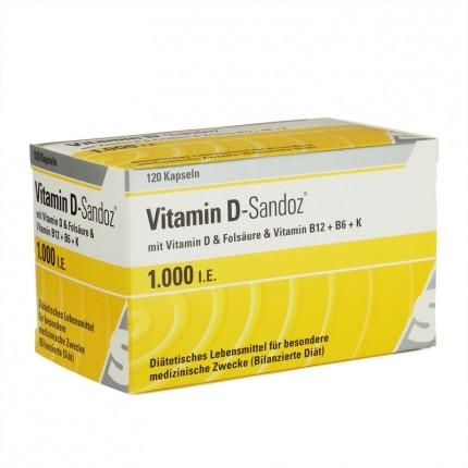 vitamin d sandoz osteo complex 1000 i e 120 st ck. Black Bedroom Furniture Sets. Home Design Ideas