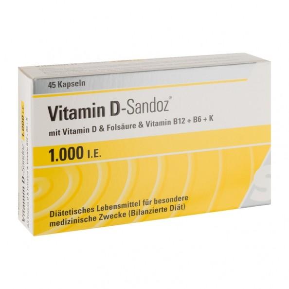 vitamin d sandoz osteo complex 1000 i e 45 st ck. Black Bedroom Furniture Sets. Home Design Ideas