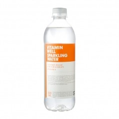 Vitamin Well Sparkling Water Persika