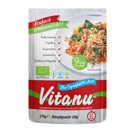 3 x Vitanu Spaghetti Shirataki Nudeln