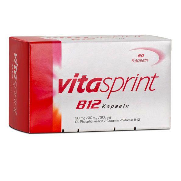 vitasprint b12 capsules 50 doses nervous system. Black Bedroom Furniture Sets. Home Design Ideas