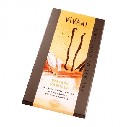 3 x Vivani Tafelschokolade Weisse Vanille