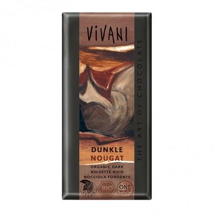 3 x Vivani Tafelschokolade Dunkle Nougat