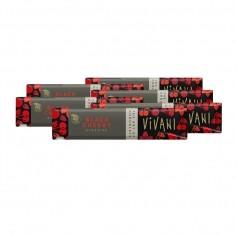 6 x Vivani Bio Schokoriegel Black Cherry