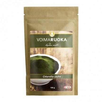 Voimaruoka Chlorella jauhe
