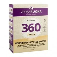 Voimaruoka Voimaruoka Wholefood 360 annospussit, vanilja