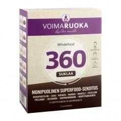 Voimaruoka Voimaruoka Wholefood 360 annospussit, suklaa