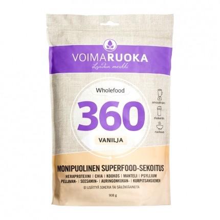 Voimaruoka Voimaruoka Wholefood 360 vanilja