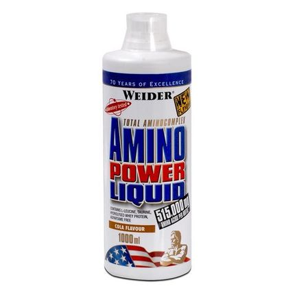 3 x Weider Amino Power Liquid Cola