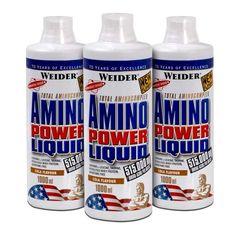3 x Weider Amino Power Liquid Cola