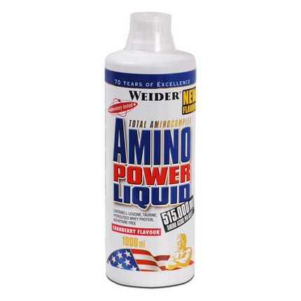 Weider Amino Power Liquid Tranebær