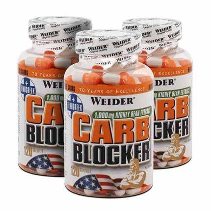 3 x Weider bloqueur de glucides, gélules